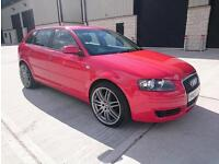 "2006 AUDI A3 1.9 TDI SE..FULL YEARS MOT..19"" RS4'S..FINANCE THIS FROM £27 PER WEEK..MINT CONDITION.."