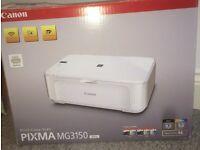 Cannon PIXMA MG3150 (White) Printer