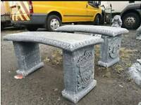 Concrete Football Benches, Man United, Liverpool, Arsenal, Rangers, Celtic £60 Each