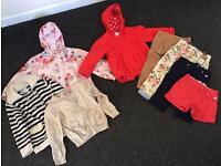 Girls Clothes 2-3 Years Bundle - Jacket, Cardigan, Trousers, Shorts Some Brand new and Tagged