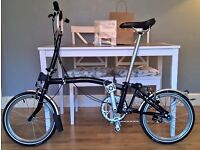 Stunning 2016 Brompton M3L - Stardust Black Limited Edition - Immaculate Condition