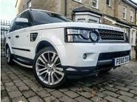 RANGE ROVER SPORT (60 PLATE) ***REAR TELEVISIONS - FULL HISTORY - TIMING BELT CHANGED*** 1 YEARS MOT
