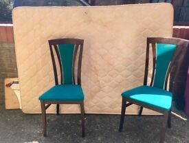 FREE double mattress and 2 chairs!