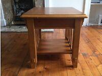 Quality wood coffee table - £60