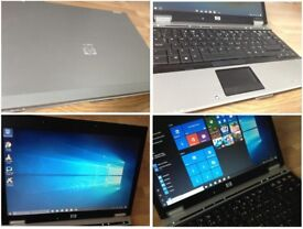 CAN DELIVER excellent condition fast business laptop HP ELITEBOOK with warranty, Windows 10, Office