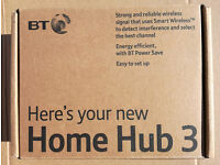 BT HomeHub 3 as new