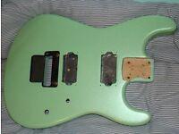 Charvel San Dimas Specific Ocean floyd rose rout alder guitar body excellent condition
