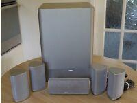 Harman Kardon HKTS-7 - 5.1 Cinema Speaker System in Silver