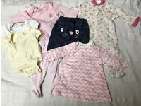 Baby girl 0-1 month clothing