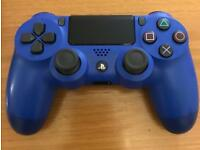 BLUE PS4 CONTROLLER