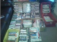 Job lot of car boot dvds and books