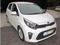 KIA Picanto 2, Clear White, BRAND NEW just 15 miles on clock £9100
