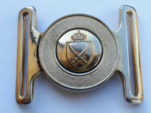 Iraq Oman Jordan military army solider infantry  buckle belt London vintage rare