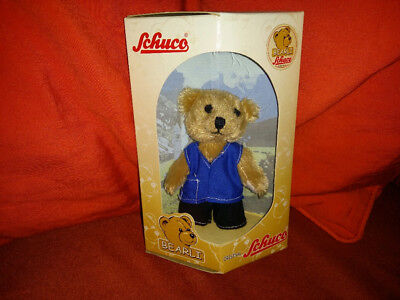 Original Schuco BEARLI Junge / Boy -Verpackung für Sammler Sammlerbär