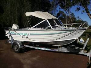GET OUT ON THE WATER THIS WEEK ! Stacer 480 Ali 60 HP Johnson Jandakot Cockburn Area Preview