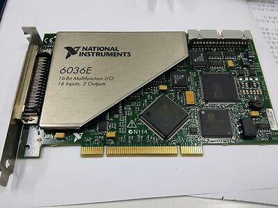 National Instruments Ni Pci-6036e Ni Daq Card 16 Bit Analog Input