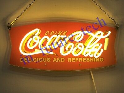"New Style Drink Coca Cola Man Cave Neon Light Sign 14""x10"""