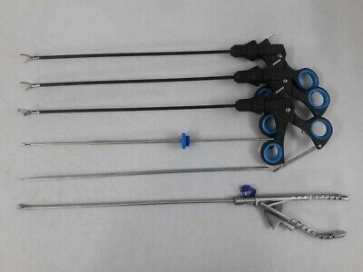 Laparoscopic Training Set Kit Storz Type Graspers Needle Holder Instruments Set