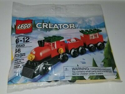 New, Sealed LEGO Polybag - Creator - 30543 - Christmas Train