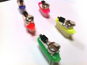 20x-BRISTLEBOT-Kit-Build-a-DIY-ROBOT-w-Vibrating-Pager-Motor-Toothbrush