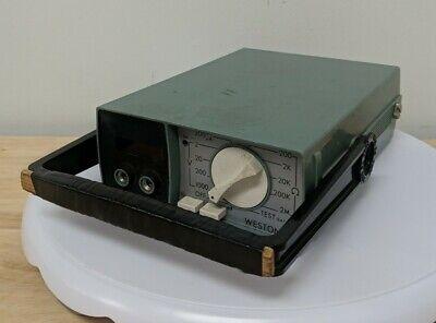 Weston Instruments Model 4440 Meter