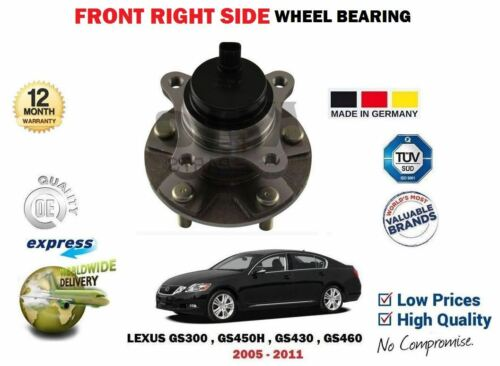 FOR LEXUS GS300 GS450H GS430 GS460 2005-2011 FRONT RIGHT SIDE WHEEL BEARING KIT