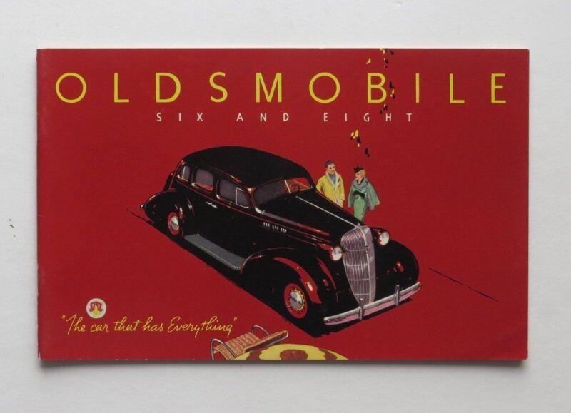 1935 Oldsmobile Six Eight Brochure