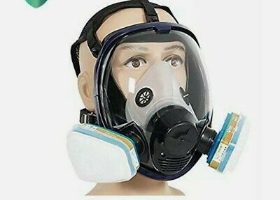 Trudsafe Tm 6800 Full Face Respirator Gas Mask Breather Painting Spraying