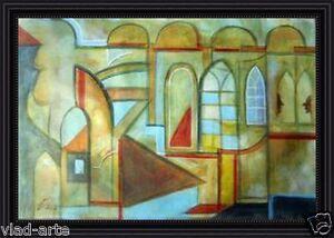 Painting-Original-oil-on-canvas-21x14-Fine-Art-Russian-Modern-Art-by-Pronkin