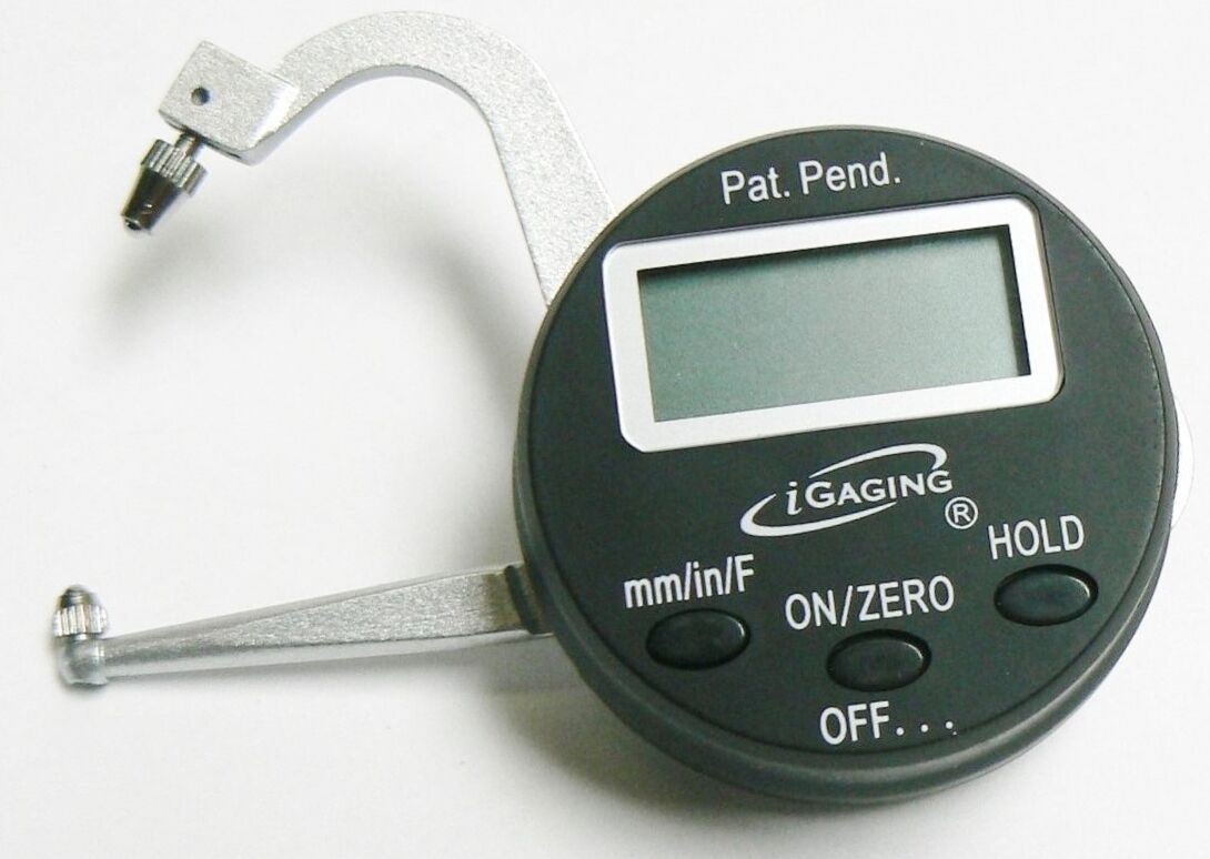 "iGAGING Thickness Gauge Digital Measuring Micrometer 0-1"" 3"