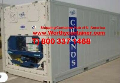 As Is Refrigerator Container - Non Working 40 High Cube Reefer In Norfolk Va