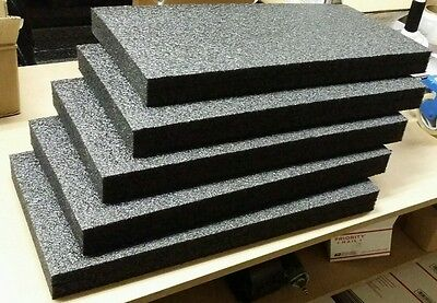 5 Sheets - 24 X 12 X 2 Polyethylene Plank Foam Density 1.7pcf Best Price Pe