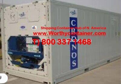 40 High Cube Refrigerator Container 40 Cw Refer In Miami Fl