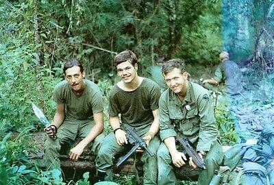 Vietnam War U.S. Army Patrol Display Weapons Choice Bien Hoa 8.5x11 Rare Photo