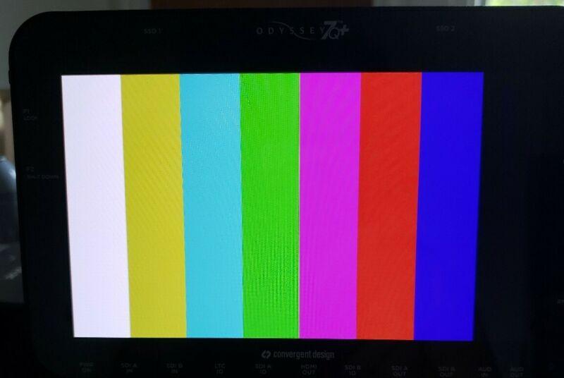 "Convergent Design Odyssey 7Q+ 7.7"" OLED Monitor  Recorder"