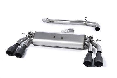 Milltek Audi S3 8v Sportback Exhaust VALVED System Non Res Black GT100 SSXAU415