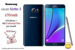 New Samsung Galaxy Note5 Australian Stock Ha Ha Mobile Auburn Auburn Area Preview