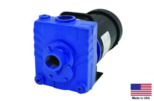 """CENTRIFUGAL PUMP Commercial - 2 Hp - 230V - 1 Phase - 1.5"""" Ports"""