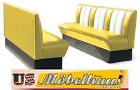 Hw-180yellow American Banco De Comedor Diner Muebles Ee.uu. Estilo Gastronomía -  - ebay.es