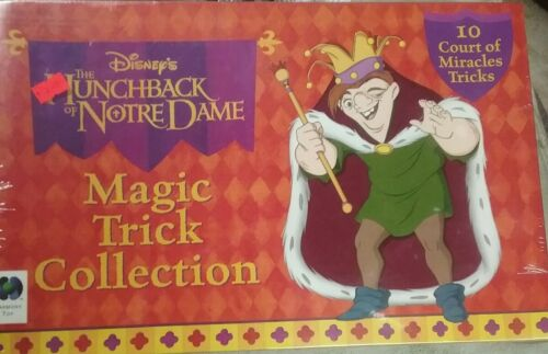 DISNEY'S THE HUNCHBACK OF NOTRE DAME MAGIC TRICK COLLECTION,