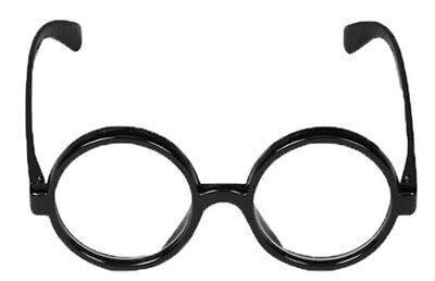 Zauberer Junge Brillen Klares Glas Nerd Kostüm Zubehör Welttag des Buches - Buch Nerd Kostüm