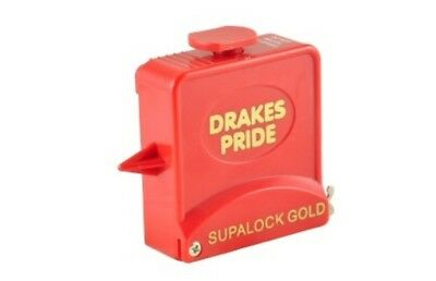 Drakes Pride - 9ft Supalock Gold String Measure - RedBowls Measuring Tape