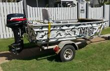 Stessl Edge Tracker 3.1m 10 foot Hand Painted Camo Tinny Manly Brisbane South East Preview