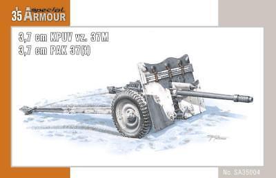 SPECIAL ARMOUR 35004 3,7cm KPUV vz. 37M 3,7cm PAK 37(t) in 1:35