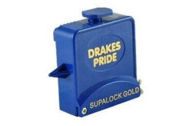 Drakes Pride - 9ft Supalock Gold String Measure - BlueBowls Measuring Tape