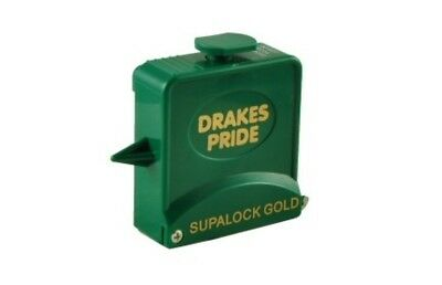 Drakes Pride - 9ft Supalock Gold String Measure - GreenBowls Measuring Tape