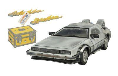 Back To The Future 2 1/15th Scale DeLorean Time Machine w/ Lights & Sounds