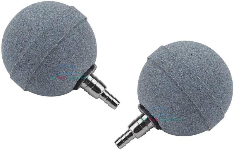 "2PCS Crazy 2""Air Stone Ball Plus Bubble Aerator Diffuser for Aquarium Hydroponic"
