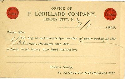 Jersey City, NJ  The 1892 Office of P. Lorillard Company - Jersey City Party City