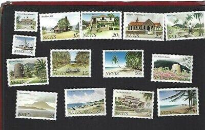 Nevis sc#121a-34a (1982) Complete MNH